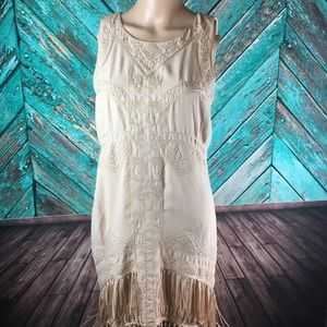 Urban Outfitters Staring at Stars Fringe Dress